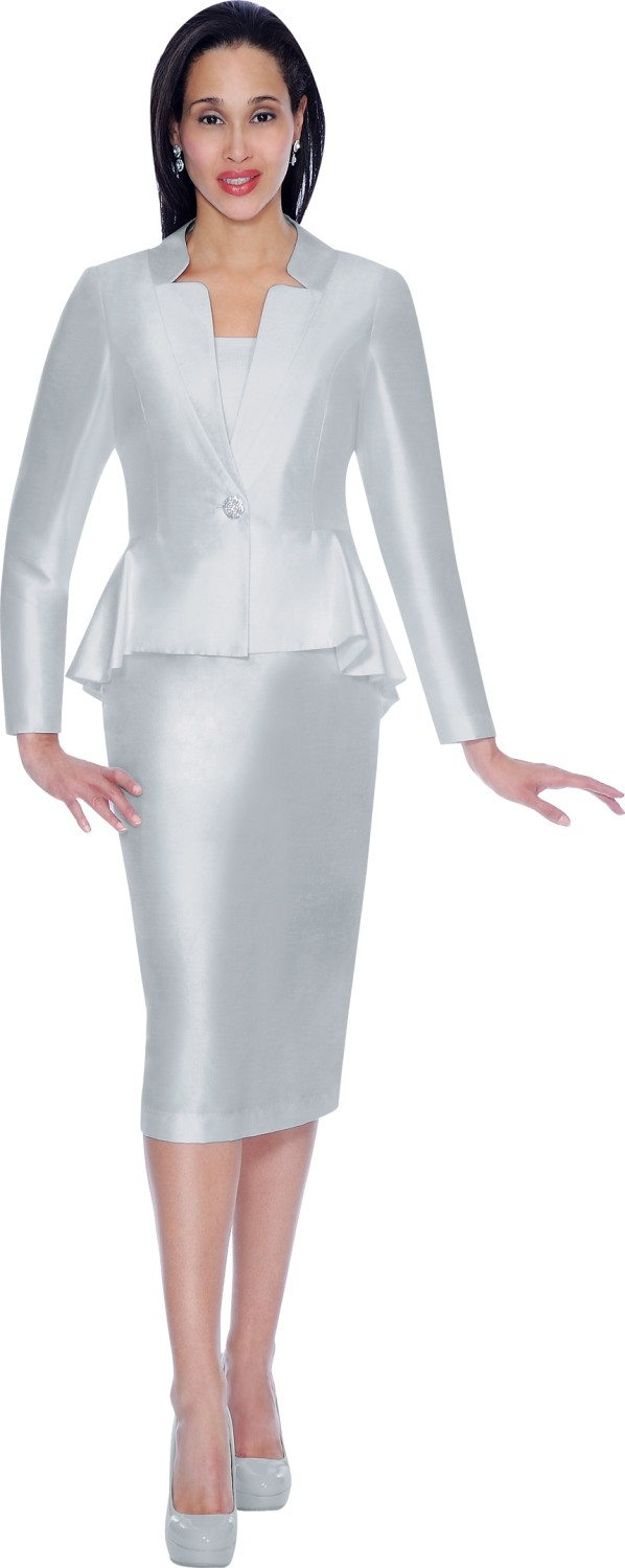 Women Church Suits SILVER AE5010 | | Not Just Church Suits