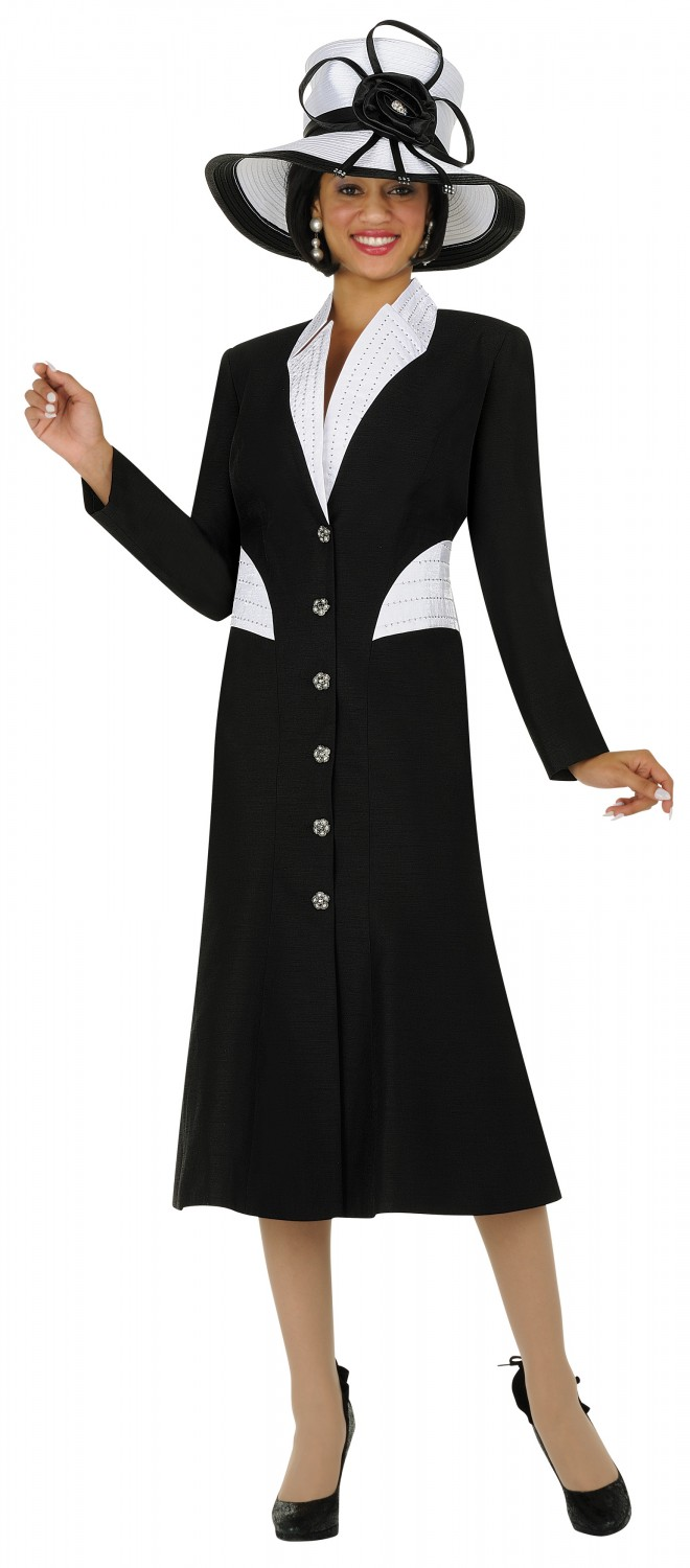 Beautiful Women Church Suits BLACK G5343   Not Just Church Suits