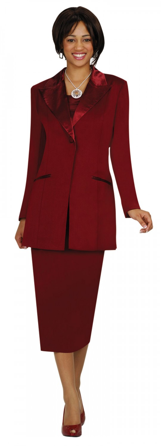 Luxury Details About BLAIR Burgundy Red 2 PC Pant Suit Women39s Size Medium