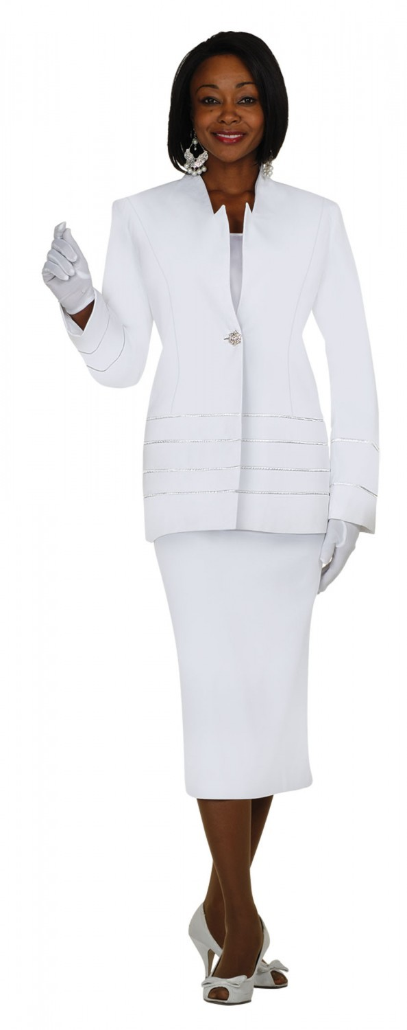 White Skirt Suit For Women 19