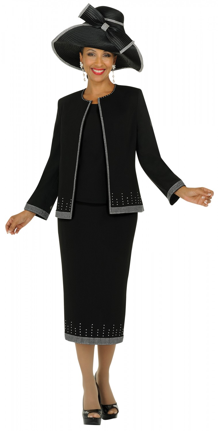 Beautiful Black Women White Church Suits