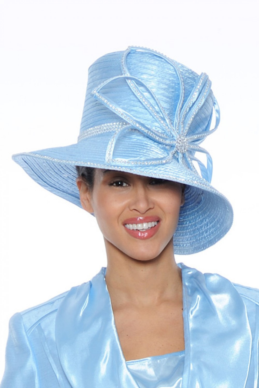 Women Hats BABY BLUE G4633H | | Not Just Church Suits