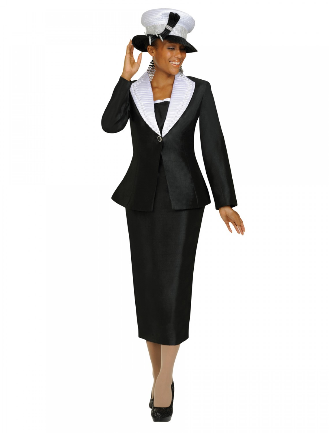 Lastest Black Women Church Suits And Dresses
