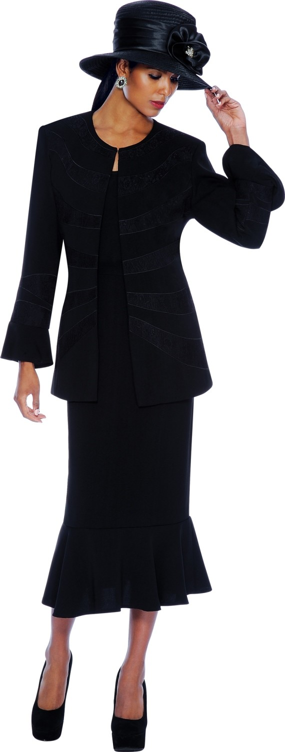 New Women Church Suits BLACK G5002   Not Just Church Suits
