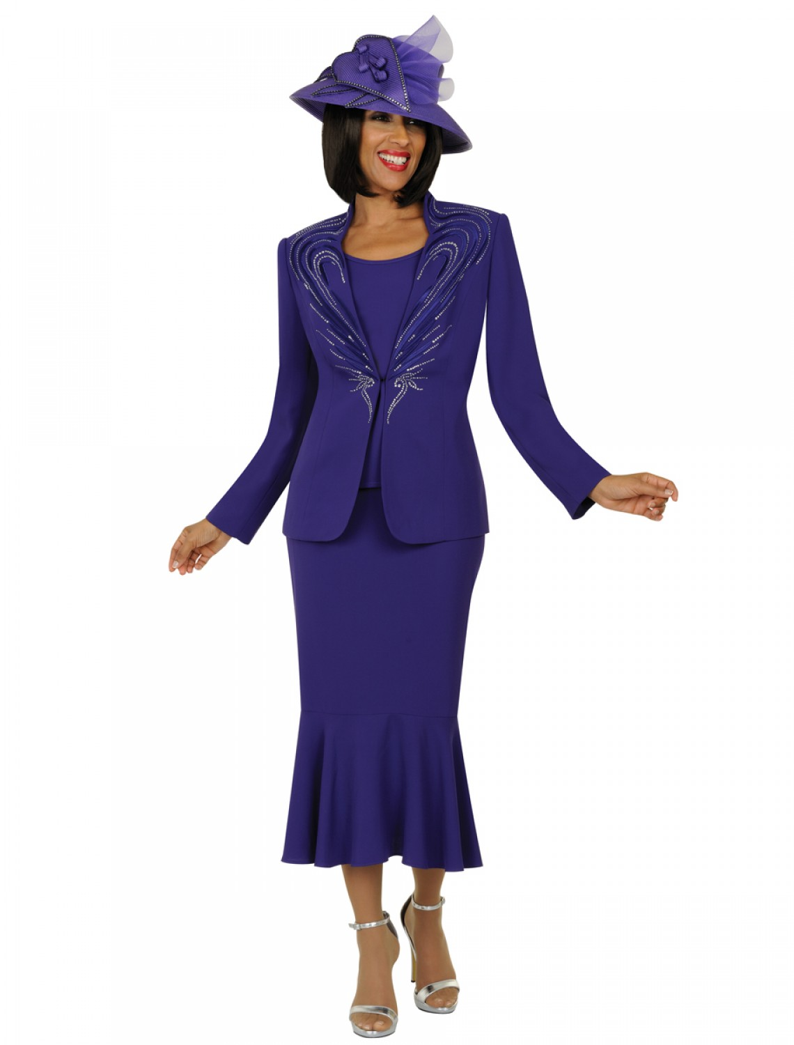 Women Church Suits Purple N94483 N94483 Not Just Church Suits