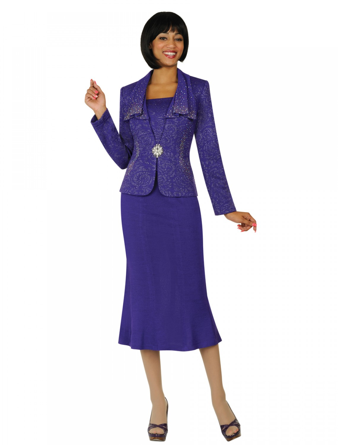 Purple Church Suits Cheap | Dress images