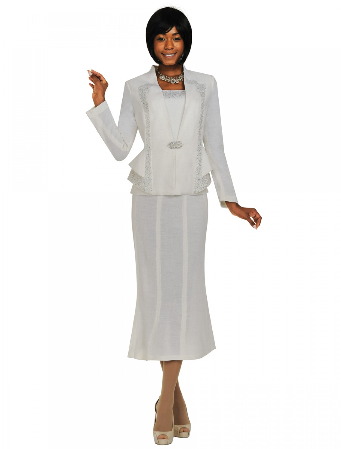 White dress for church - Featured Image Style Tdc94363