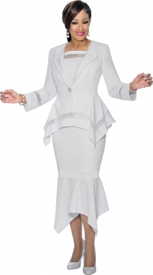 Church Suits-DCC1153 - WHITE