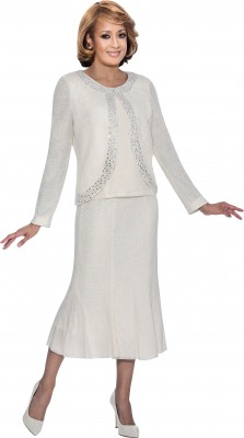 Casual Wear-DCC1263 - WHITE