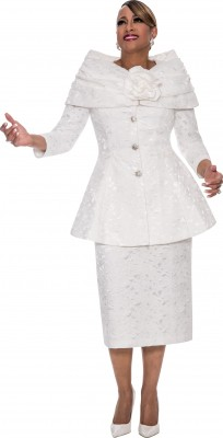 Church Suits-DCC482 - WHITE