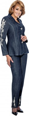 Denim Suits-DCC852 - NAVY