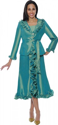 Dresses-DN5352 - GREEN</h3>