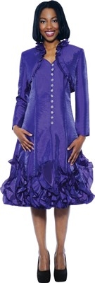 Dresses-DN5432 - PURPLE