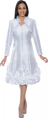 Dresses-DN5432 - WHITE
