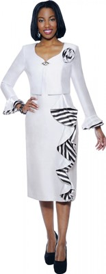 Dresses-DN5462 - WHITE</h3>