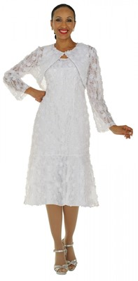 Dresses-DN5562 - WHITE</h3>