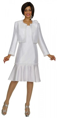Dresses-DN5852 - WHITE</h3>