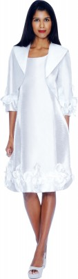 Dresses-DN5912 - WHITE