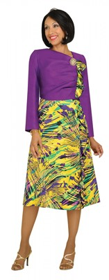Dresses-DN6132 - PURPLE