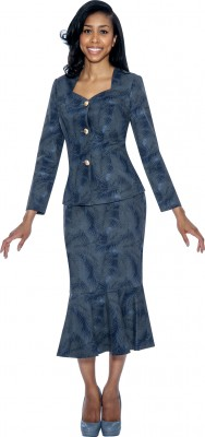 Denim Suits-DS50652 - NAVY