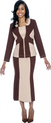 DS50723 - BROWN / CREAM</h3>