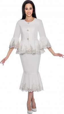 Casual Wear-DS51582 - WHITE