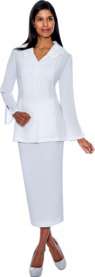 Usher Suits-G12777 - WHITE