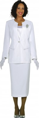 Usher Suits-G13273 - WHITE