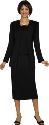 Usher Suits-G13270 - BLACK