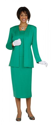 Usher Suits-G13270 - EMERALD