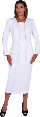 Usher Suits-G13270 - WHITE
