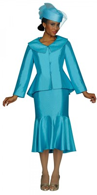 Church Suits-G4162 - TURQUOISE