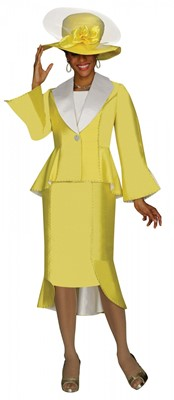 Church Suits-G4172 - BRIGHT YELLOW