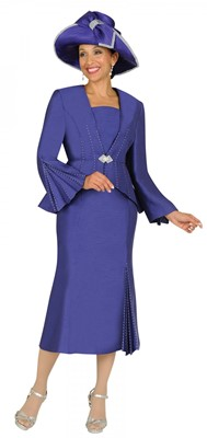 Church Suits-G4242 - DEEP PURPLE