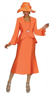 Church Suits-G4242 - ORANGE SHERBET
