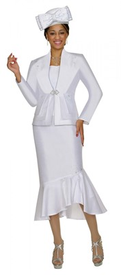 Church Suits-G4263 - WHITE