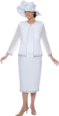 Church Suits-G4393 - White