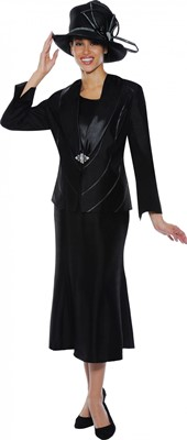 Church Suits-G4633 - Black