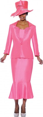 Church Suits-G4643 - Bright Pink