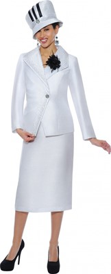 Church Suits-G4662 - WHITE