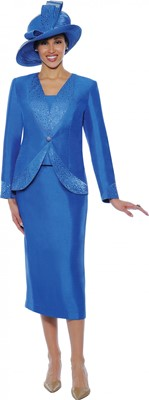 Church Suits-G4733 - Royal