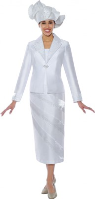 Church Suits-G4742 - White