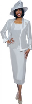 Church Suits-G4753 - Silver