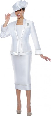 Church Suits-G4753 - White