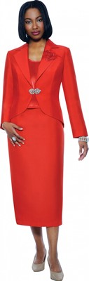 Church Suits-G4783 - RED
