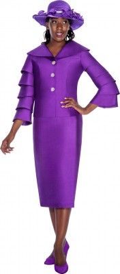 Church Suits-G5112 - PURPLE