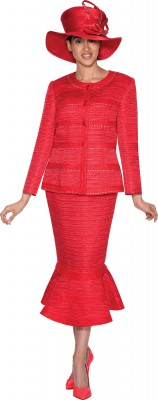 Church Suits-G5222 - RED