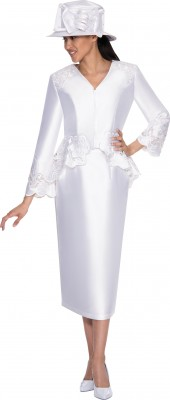Church Suits-G5232 - WHITE