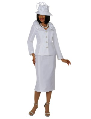 Church Suits-G5243 - WHITE