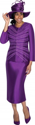 Church Suits-G5253 - PURPLE
